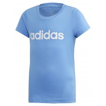 JUNIOR GIRLS' ADIDAS TRAINING ESSENTIAL LINEAR T-SHIRT