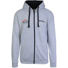 TENNISPRO ERSA ZIPPED GREY SWEATER