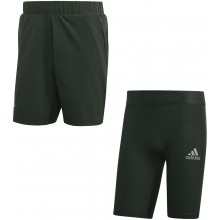 ADIDAS 2 IN 1 AUSTRALIAN OPEN ATHLETES SHORTS