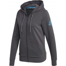 WOMEN'S ADIDAS CLUB ZIPPED HOODIE