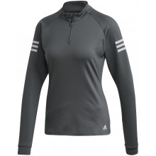 WOMEN'S ADIDAS 1/2 ZIP LONG-SLEEVE T-SHIRT