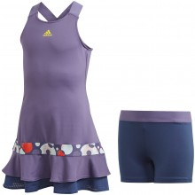 JUNIOR GIRLS' ADIDAS FRILL DRESS