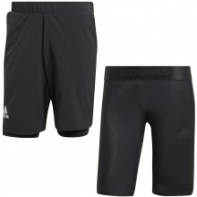 ADIDAS 2 IN 1 SHORTS