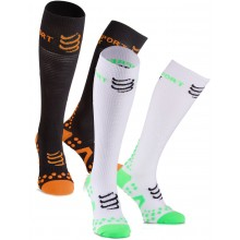 COMPRESSPORT RACKET PLAY&DETOX HIGH SOCKS