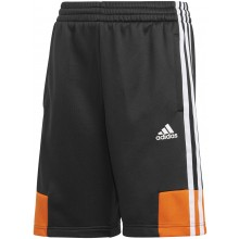 JUNIOR BOYS' ADIDAS BAR 3 STRIPES SHORTS