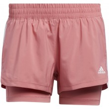 WOMEN'S ADIDAS PACER 3S 2IN1 SHORTS