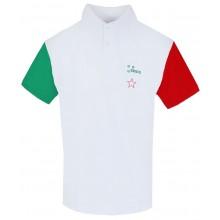 EKIPO ITALY TRICOLOR POLO
