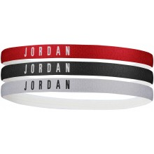 PACK OF 3 NIKE JORDAN ASSORTED HEADBANDS