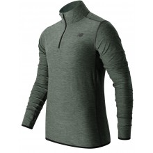 T-SHIRT NEW BALANCE MANCHES LONGUES 1/4 ZIP MT53030