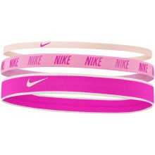 NIKE ELASTIC HEADBANDS - 3 PIECE ASSORTMENT