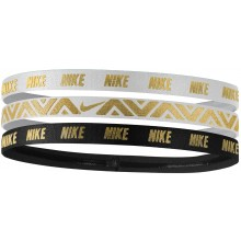 NIKE ELASTIC METALLIC BAND - 3 PIECE ASSORTMENT