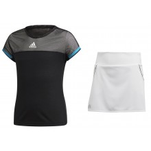 JUNIOR GIRLS' ADIDAS TENNIS OUTFIT
