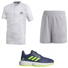 JUNIOR BOYS' ADIDAS TENNIS OUTFIT