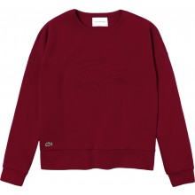 WOMEN'S LACOSTE TRAINING SWEATER