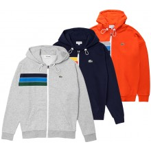 LACOSTE LIFESTYLE ZIPPED HOODIE