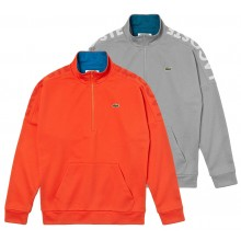 LACOSTE LIFESTYLE 1/2 ZIPPED SWEATER