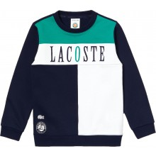 JUNIOR LACOSTE ROLAND GARROS SWEATER