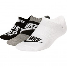 3 PAIRS OF NIKE EVERYDAY SOCKS
