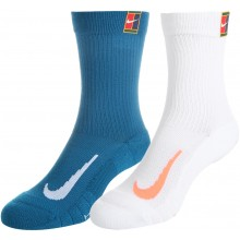 2 PAIRS OF NIKE CUSHION CREW SOCKS
