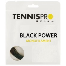 TENNISPRO BLACK POWER (12 METRES) STRING PACK