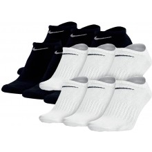 6 PAIRS OF NIKE LOW SOCKS