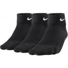3 PAIRS OF SOCKS NIKE CUSHION QUARTER LOW