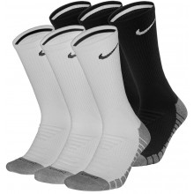 3 PAIRS OF NIKE DRY CUSHION SOCKS