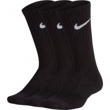 3 PAIRS OF JUNIOR NIKE PERFORMANCE CREW HIGH SOCKS