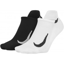 2 PAIRS OF NIKE NO SHOW SOCKS