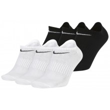 3 PAIRS OF NIKE EVERYDAY EXTRA LOW SOCKS