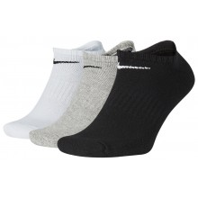 3 PAIRS OF NIKE CUSHION EVERYDAY EXTRA LOW SOCKS