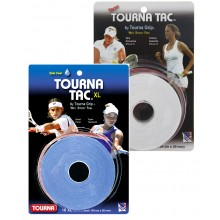 10 OVERGRIPS TOURNA TAC WHITE XL