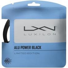 LUXILON BIG BANGER ALU POWER BLACK STRING (12 METERS)