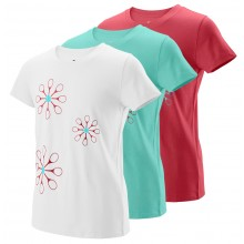 JUNIOR GIRLS' WILSON FLORET TECH T-SHIRT