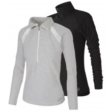 WOMEN'S NEW BALANCE HALF-ZIP SWEATER