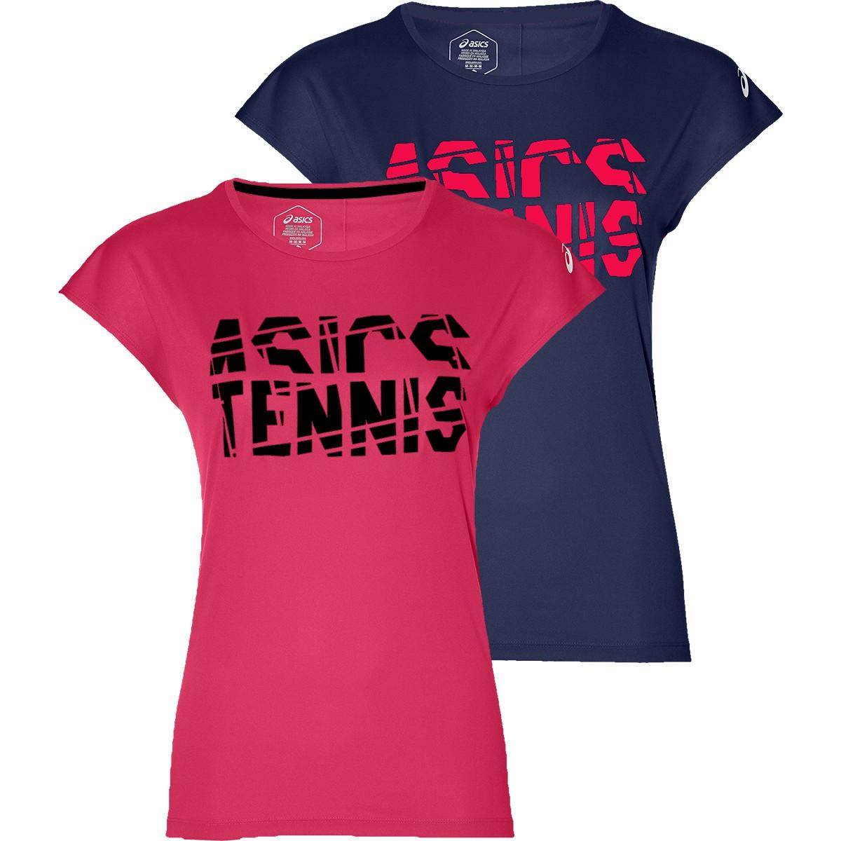 JUNIOR GIRLS' ASICS TENNIS GPX T-SHIRT