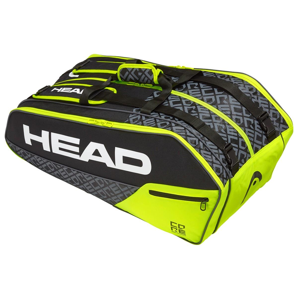 HEAD CORE 9R SUPERCOMBI TENNIS BAG