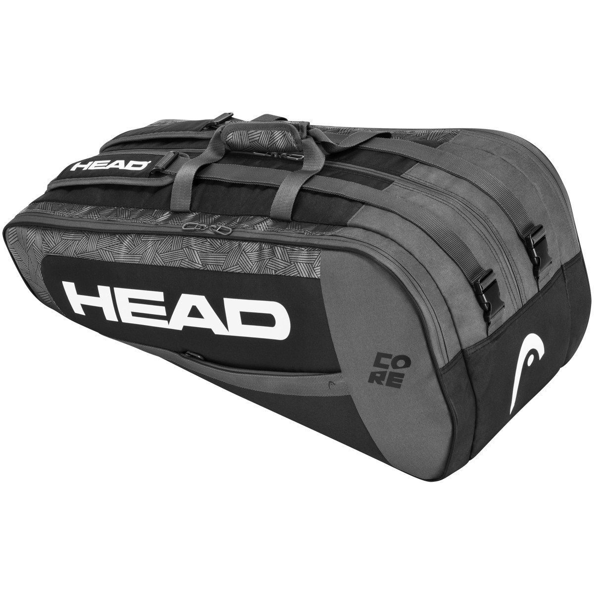 HEAD CORE SUPERCOMBI 9R TENNIS BAG