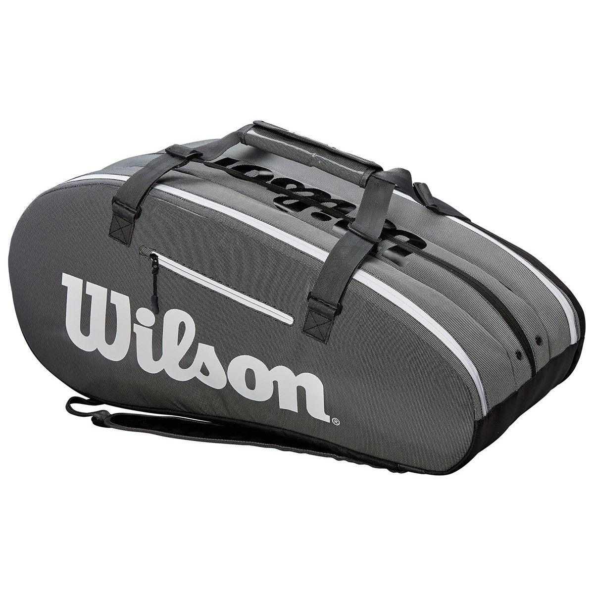 692412cdf25b WILSON SUPER TOUR 3 COMP TENNIS BAG +