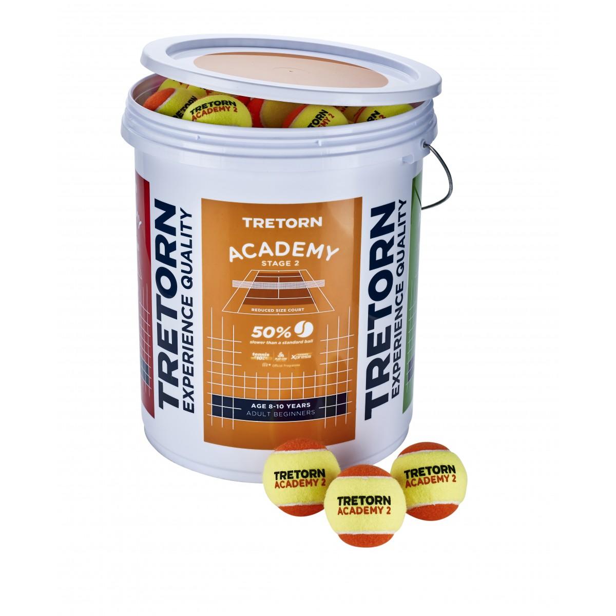 Babolat Academy Tennis Balls 72 Bucket