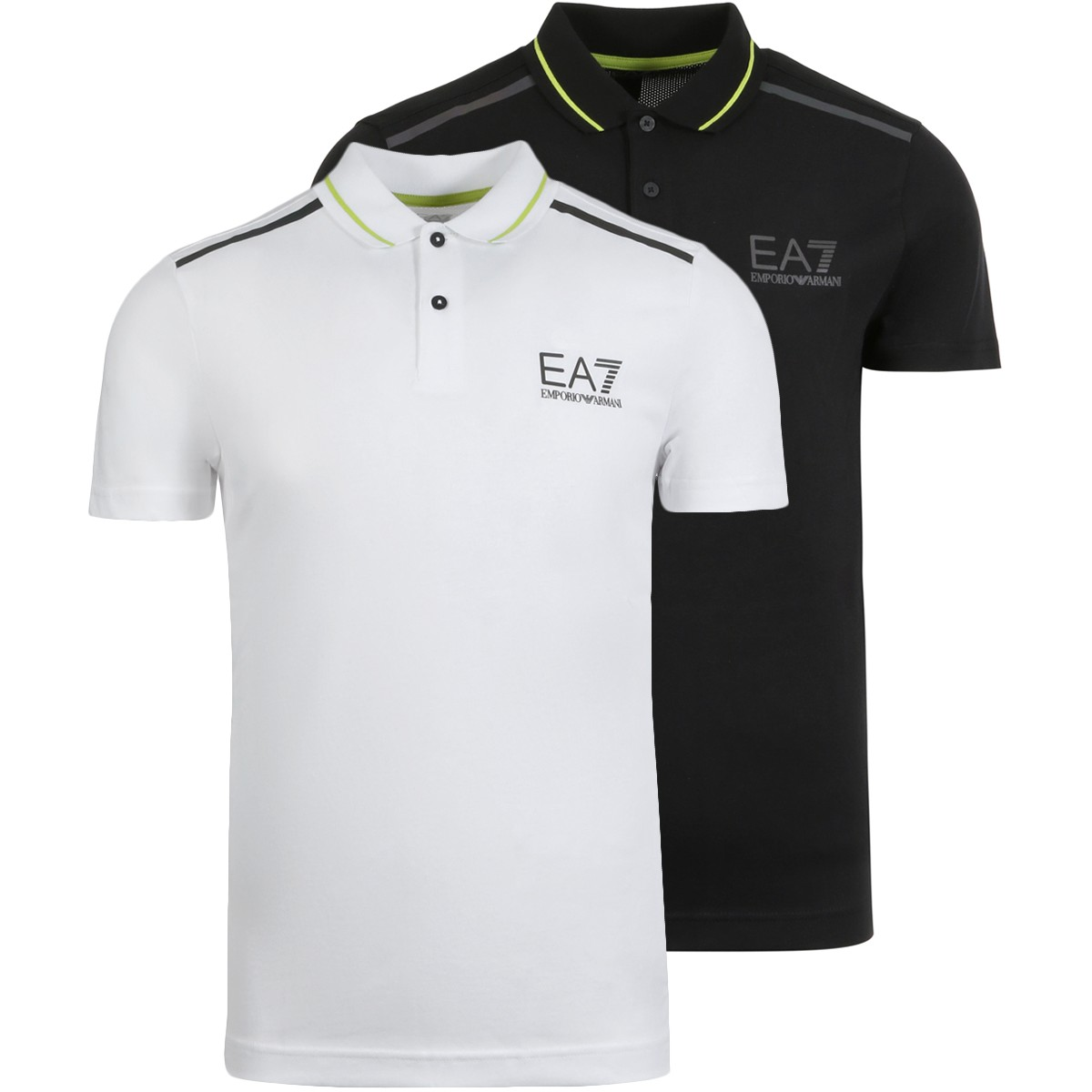 EA7 NATURAL VENTUS POLO