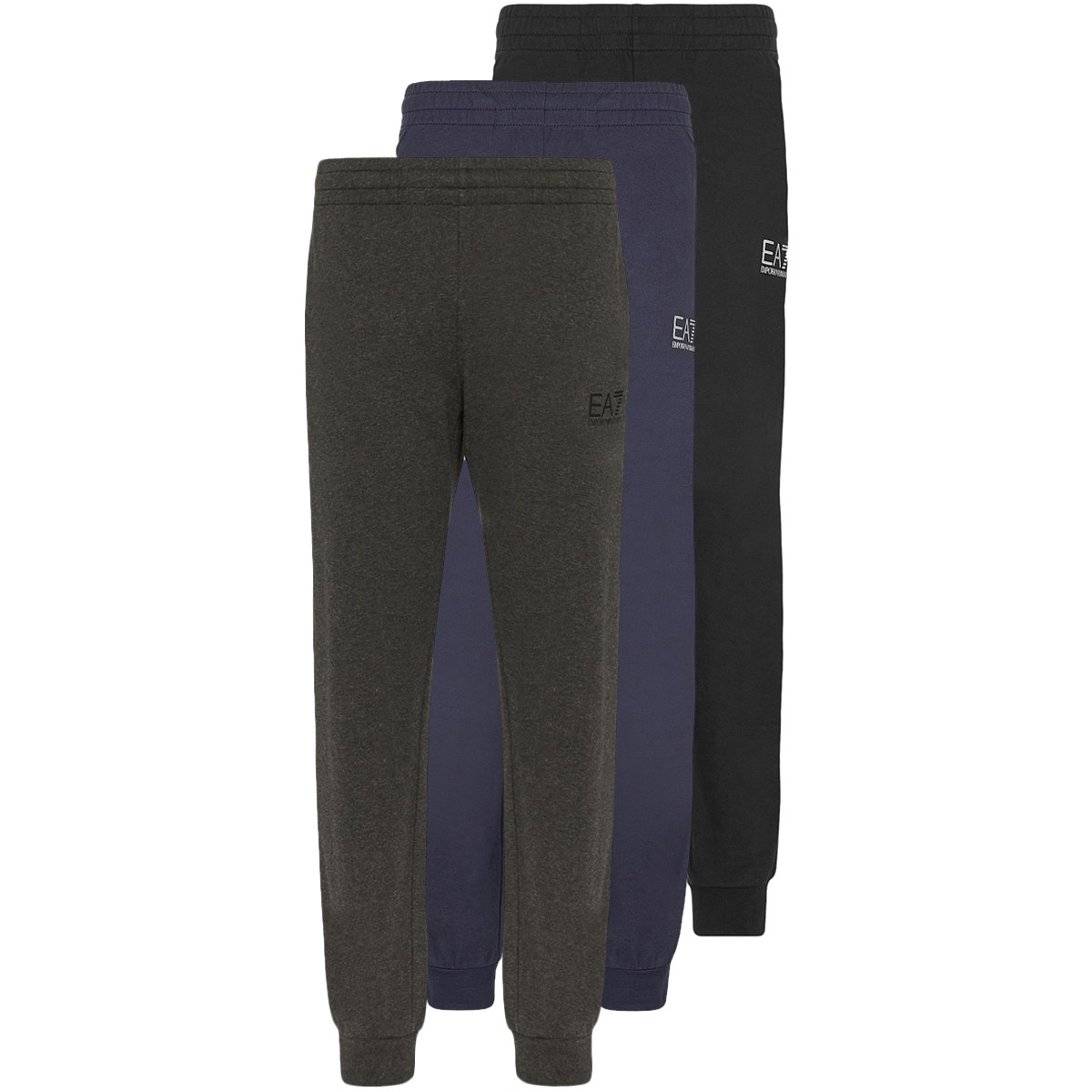 EA7 TRAIN LOGO SQUARED COFT PANTS