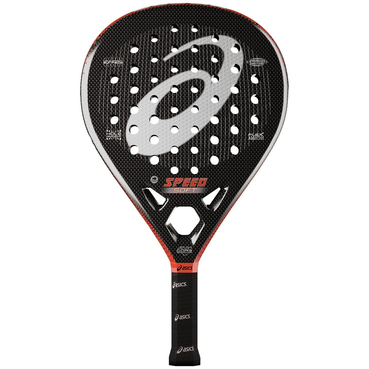 ASICS SPEED SOFT PADEL RACQUET + 73792868d7f12
