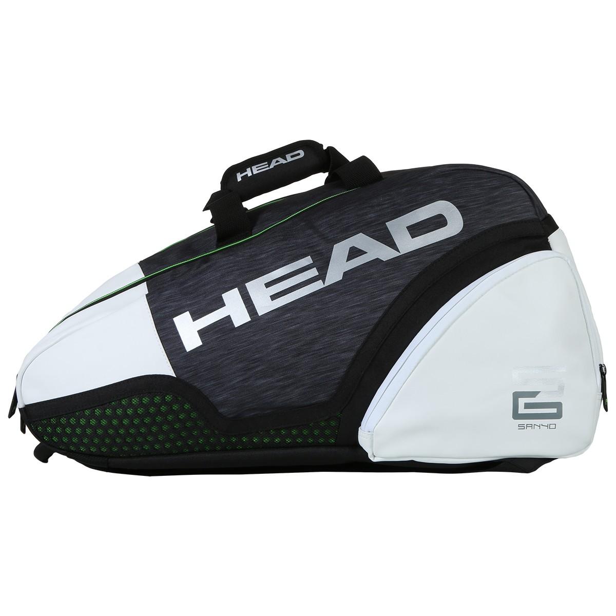 HEAD ALPHA SANYO SUPERCOMBI PADEL BAG - HEAD - Padel Bags - Padel