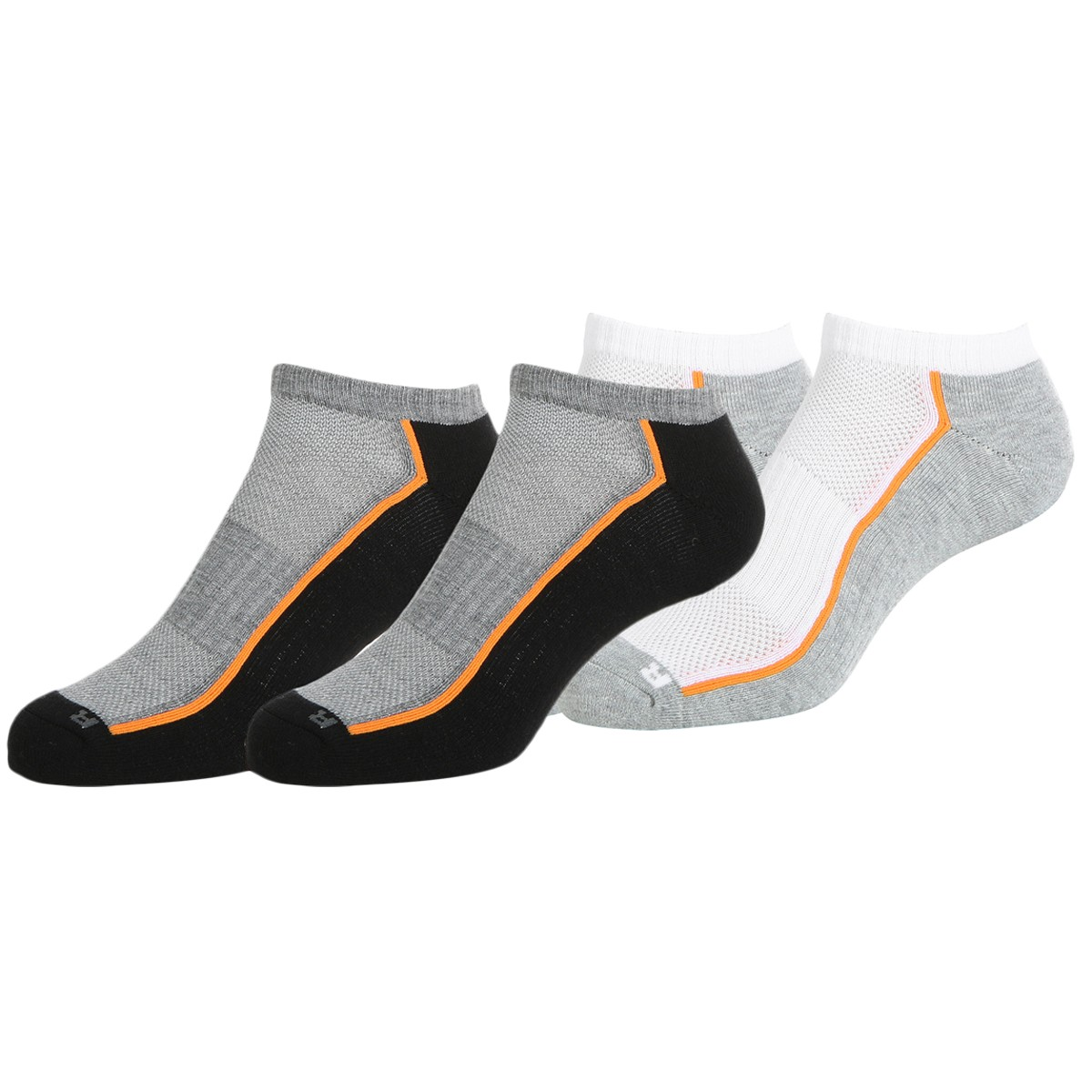 2 PAIRS OF HEAD PERFORMANCE LOW SOCKS