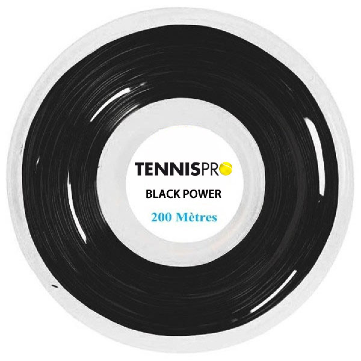 TENNISPRO BLACK POWER (220 METRES) STRING REEL