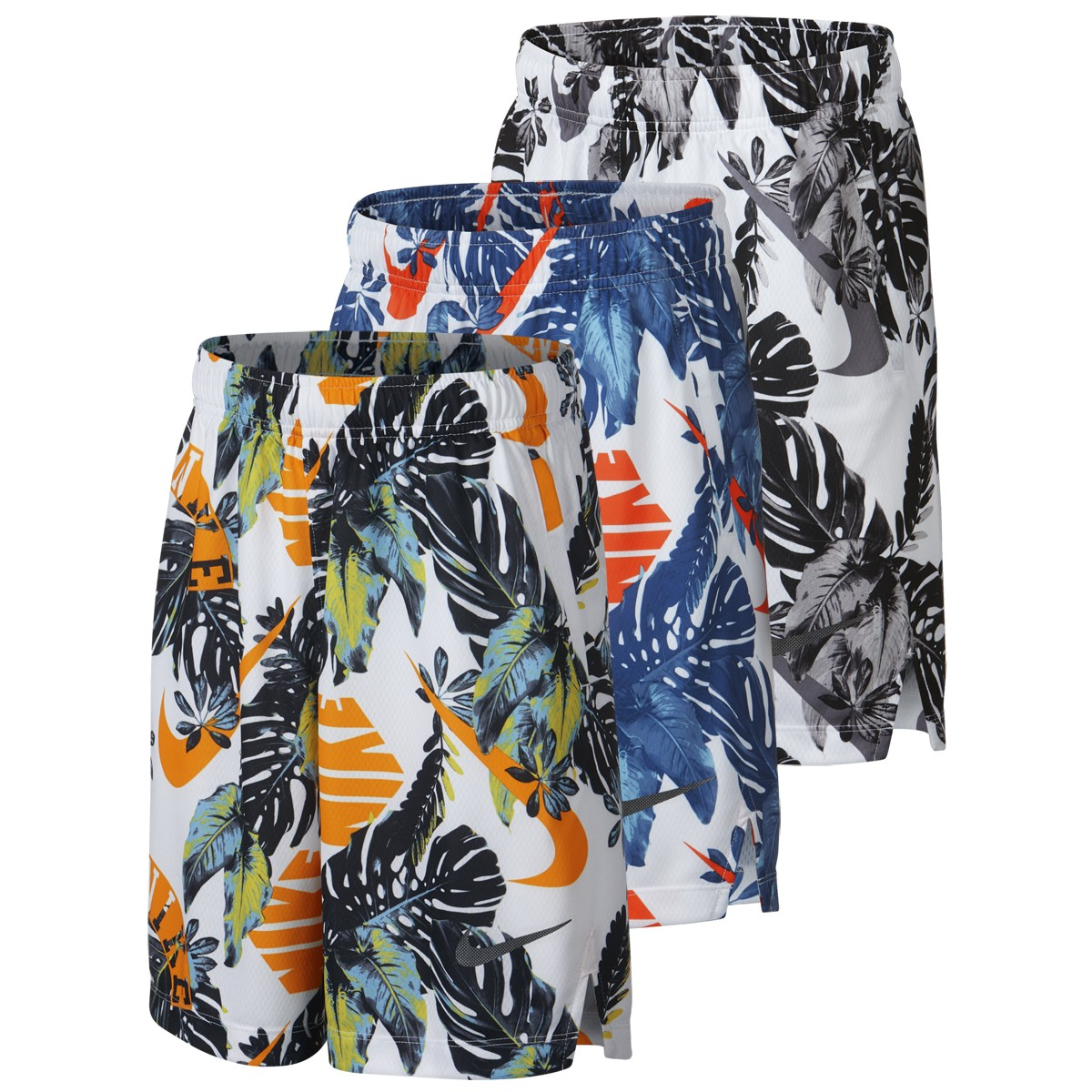 Junior Nike Dri Fit Printed Shorts Nike Juniors