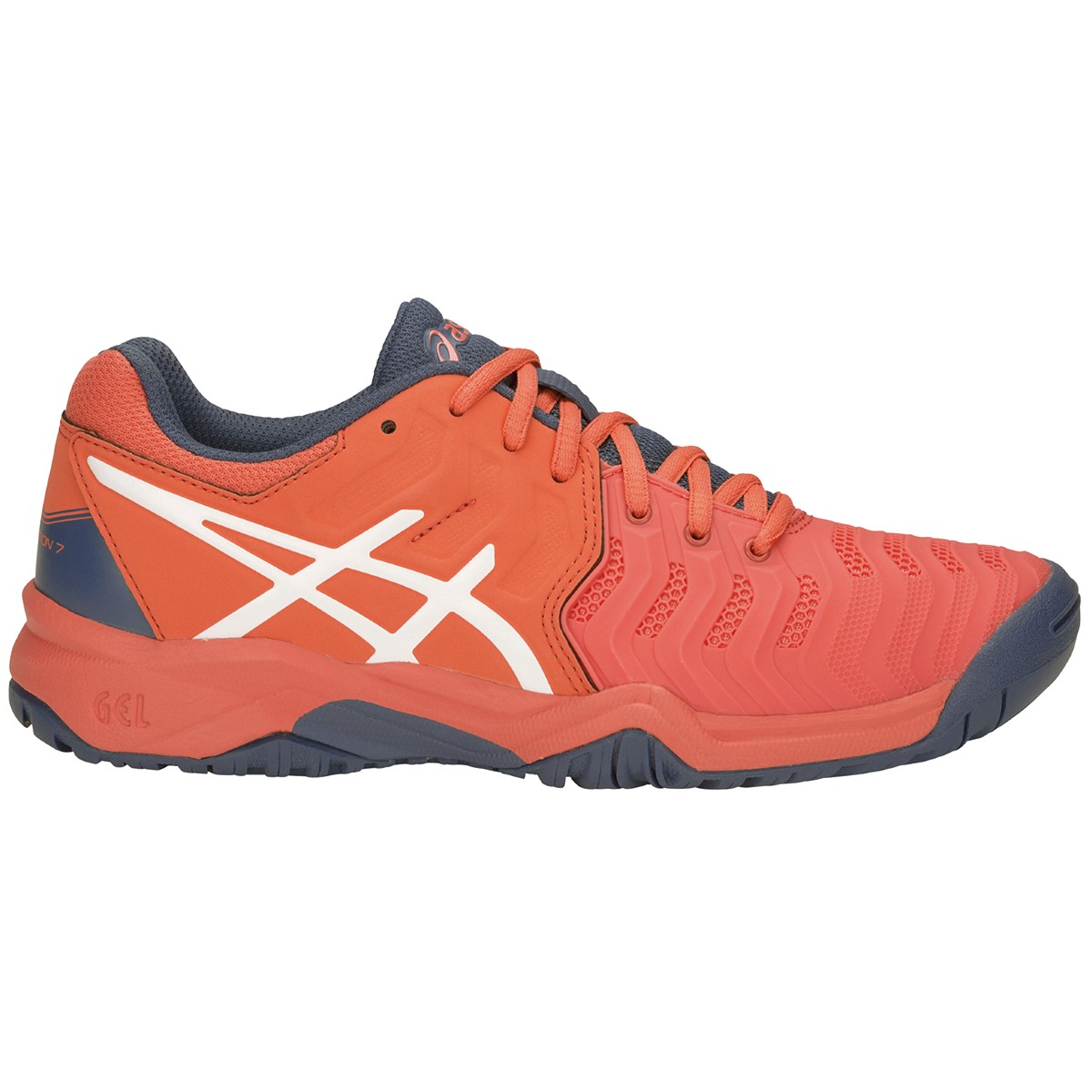 JUNIOR ASICS RESOLUTION 7 GS ALL COURT SHOES