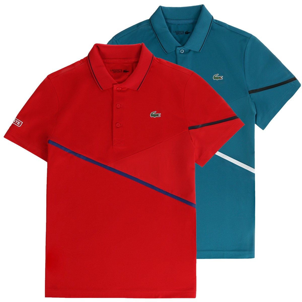 LACOSTE TENNIS AMERICAN TOURNAMENTS POLO