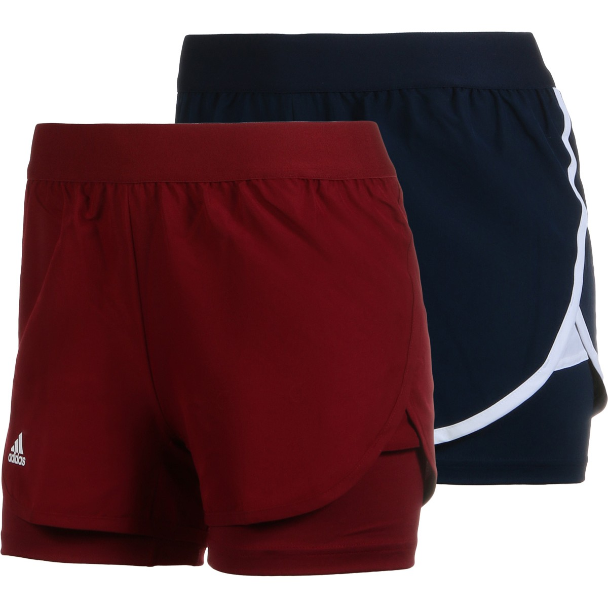 JUNIOR GIRLS' ADIDAS CLUB SHORTS